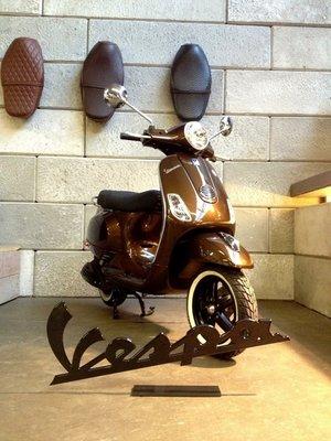Vespa LX Marrakech Brown